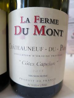 La Ferme Du Mont Châteauneuf-du-Pape Côtes Capelan 2011 - AC, Rhône, France (92 pts)