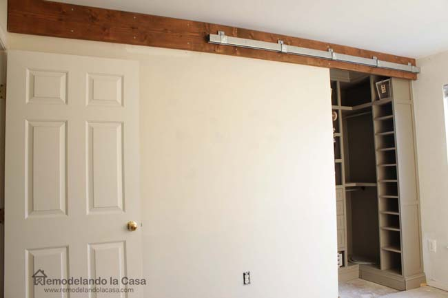 How To Install A Sliding Barn Door Part 1 The Track