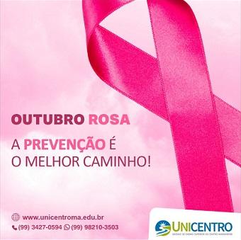 UNICENTRO - CAMPANHA OUTUBRO ROSA