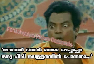 Athey njan thenga odachappo pru piece vellathil poyatha  Kalyana Raman film comedy dialogue - Salim kumar
