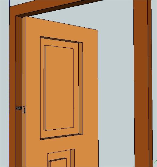 Dibujo de la puerta imagui - Dibujos de puertas ...