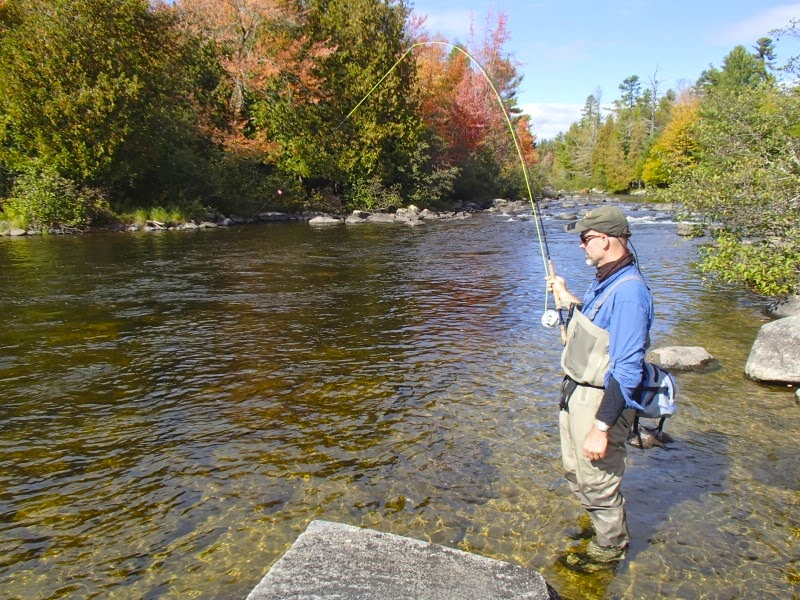 First cast fly fishing fly fishing maine middle dam for Maine fly fishing