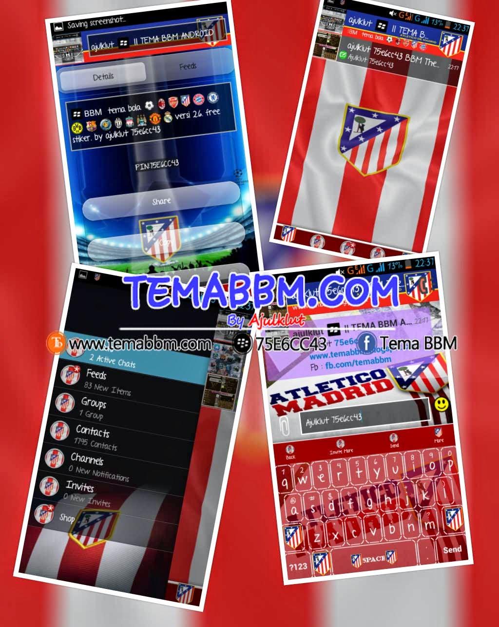 BBM MOD Atletico Madrid