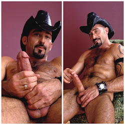 Cowboy de cavanhaque.