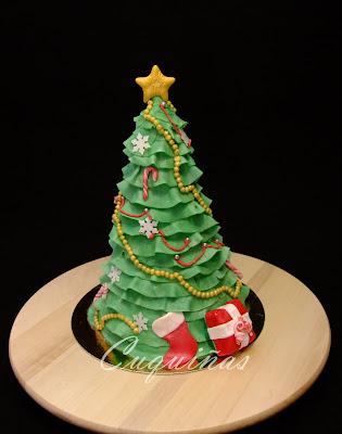 Tarta árbol de Navidad, Christmas Tree Cake
