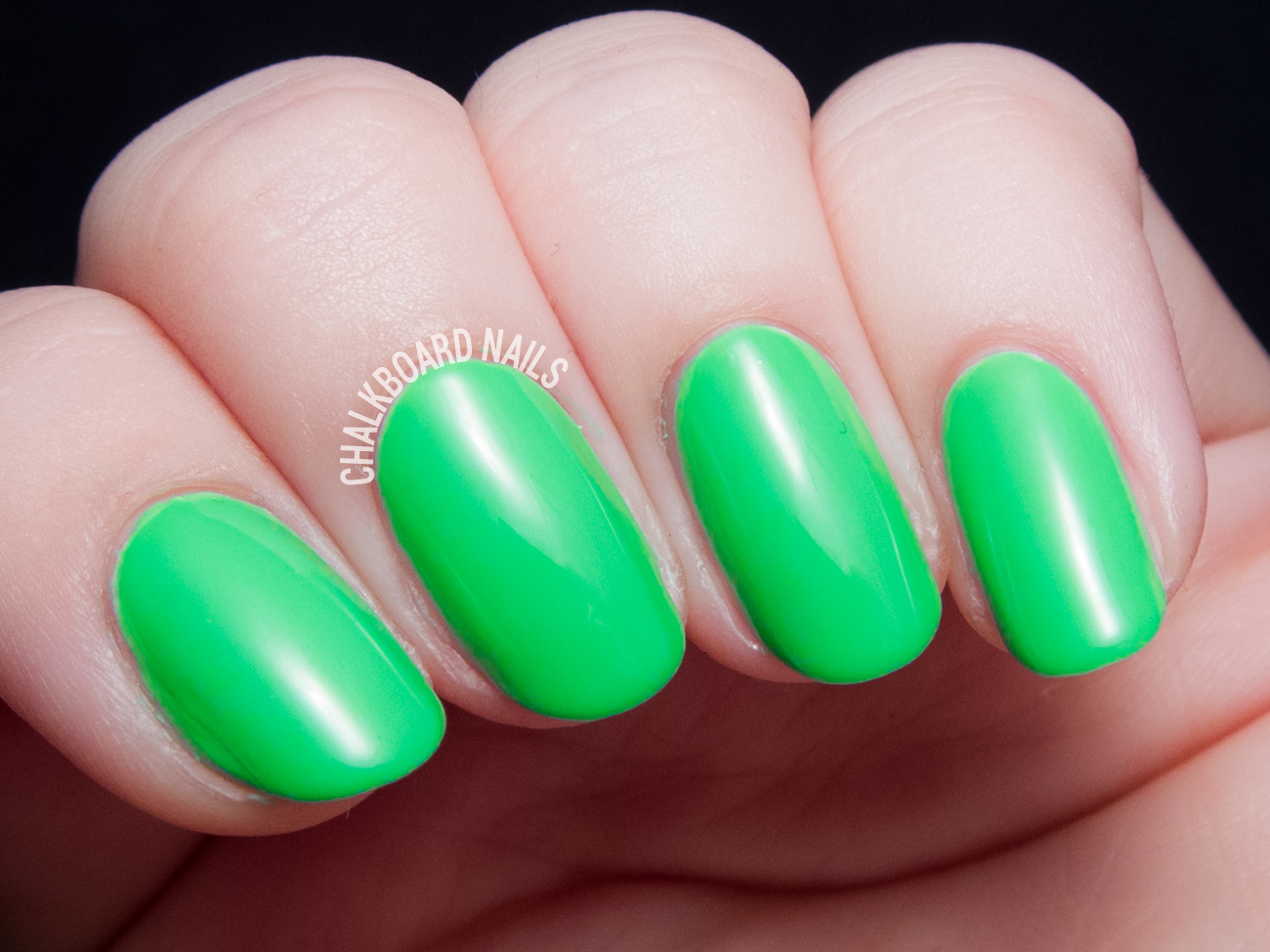 China Glaze Treble Maker via @chalkboardnails