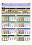Calendario de clases 2014/15