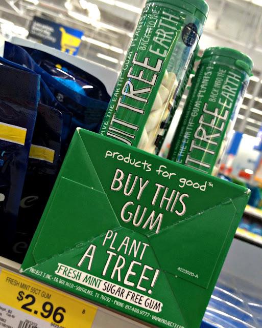 #CBias, Project 7, Project 7 gum, Gum that donates trees