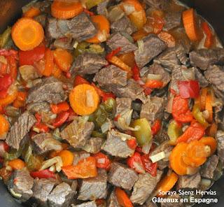 reussir recette ragout boeuf legumes