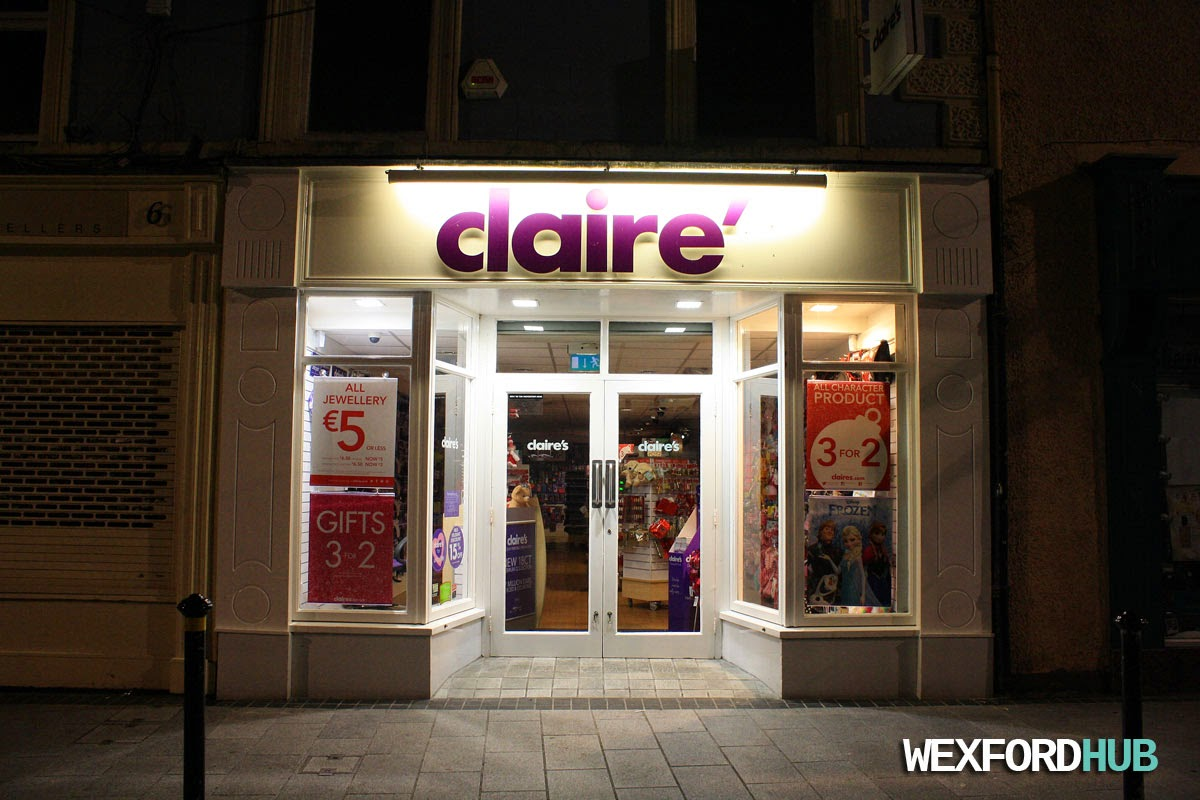 Claire's Accessories, Wexford