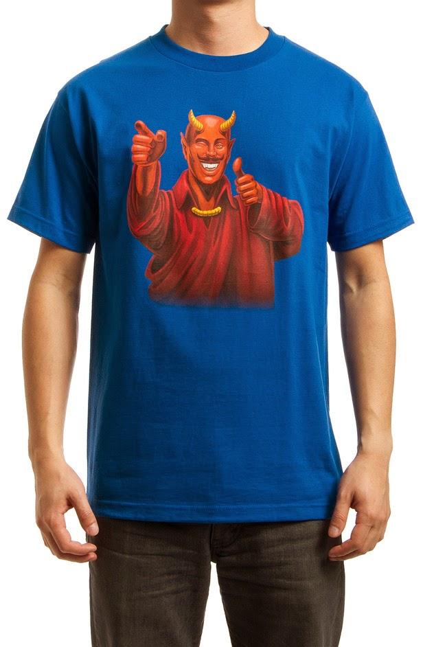 """Buddy Satan"" Dogma Inspired T-Shirt by The Hundreds"