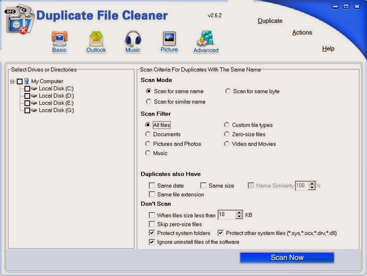 Duplicate file cleaner v2 6 2 203 original
