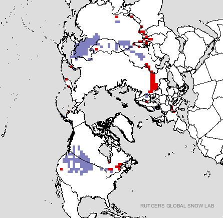 Us Snow Cover Map Globalinterco - Us snow cover map noaa