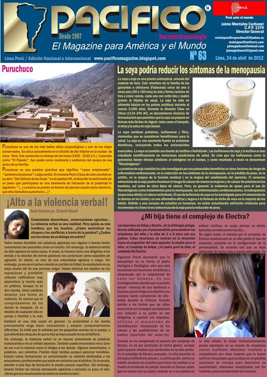 Revista Pacífico Nº 63 Arqueología