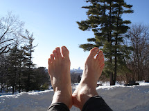 Cold Weather Barefoot