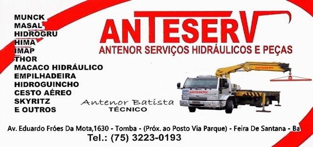 ANTESERV ANTENOR SERVIÇOS HIDRÁULICO E PEÇAS