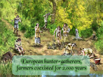 European hunter-gatherers, farmers coexisted for 2,000 years