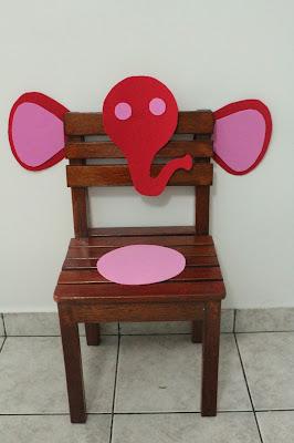 Cadeira de EVA elefante