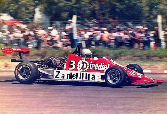 10 de agosto, 1986 / JOSE LUIS DI PALMA GANABA EN FORMJULA ENTRECOR