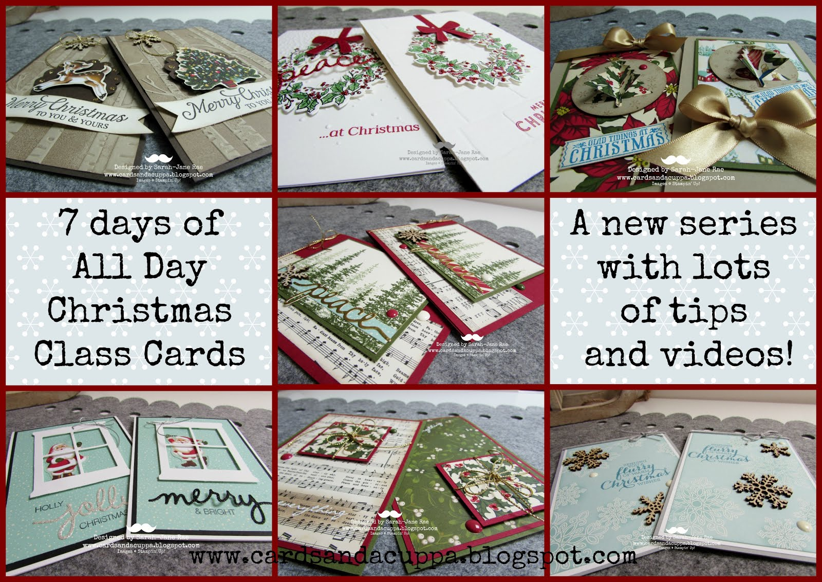7 Days of All Day Card Class Makes