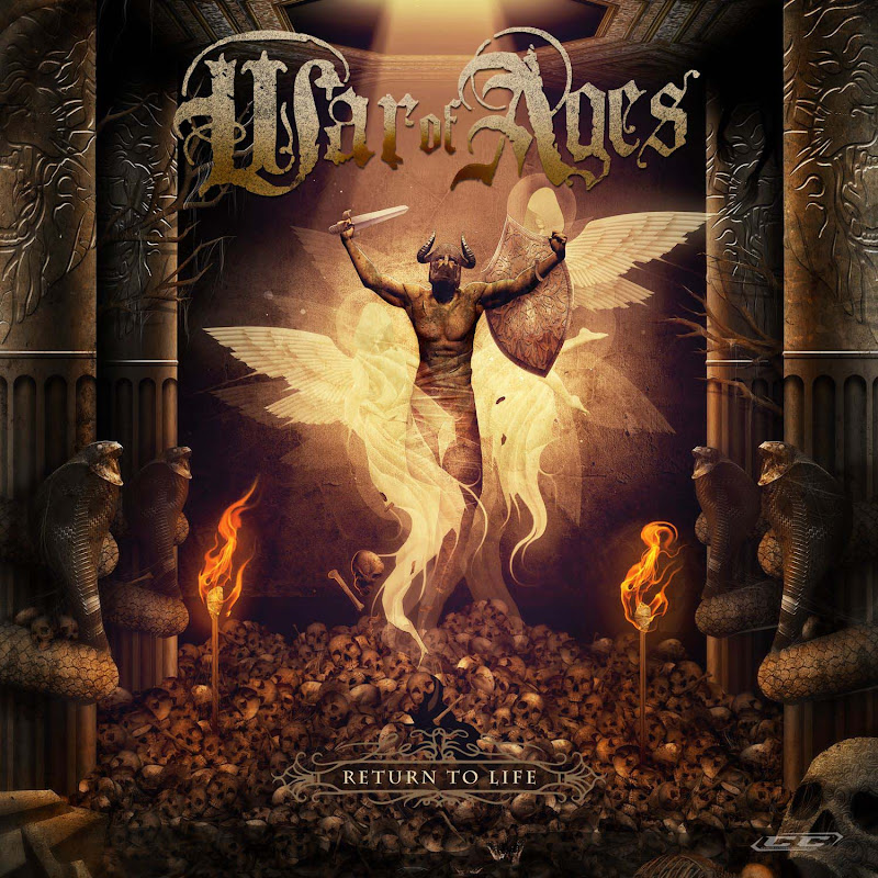War of Ages - Return to Life 2012 English Christian Metalcore Album