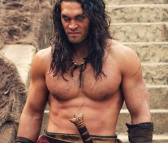 Jason Momoa Heritage: Rock Body Fitness Weight Lifting Exercises : Conan The
