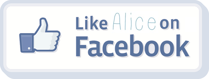 Like Alice on Facebook:
