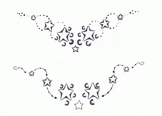 Star Tattoo Design Outline
