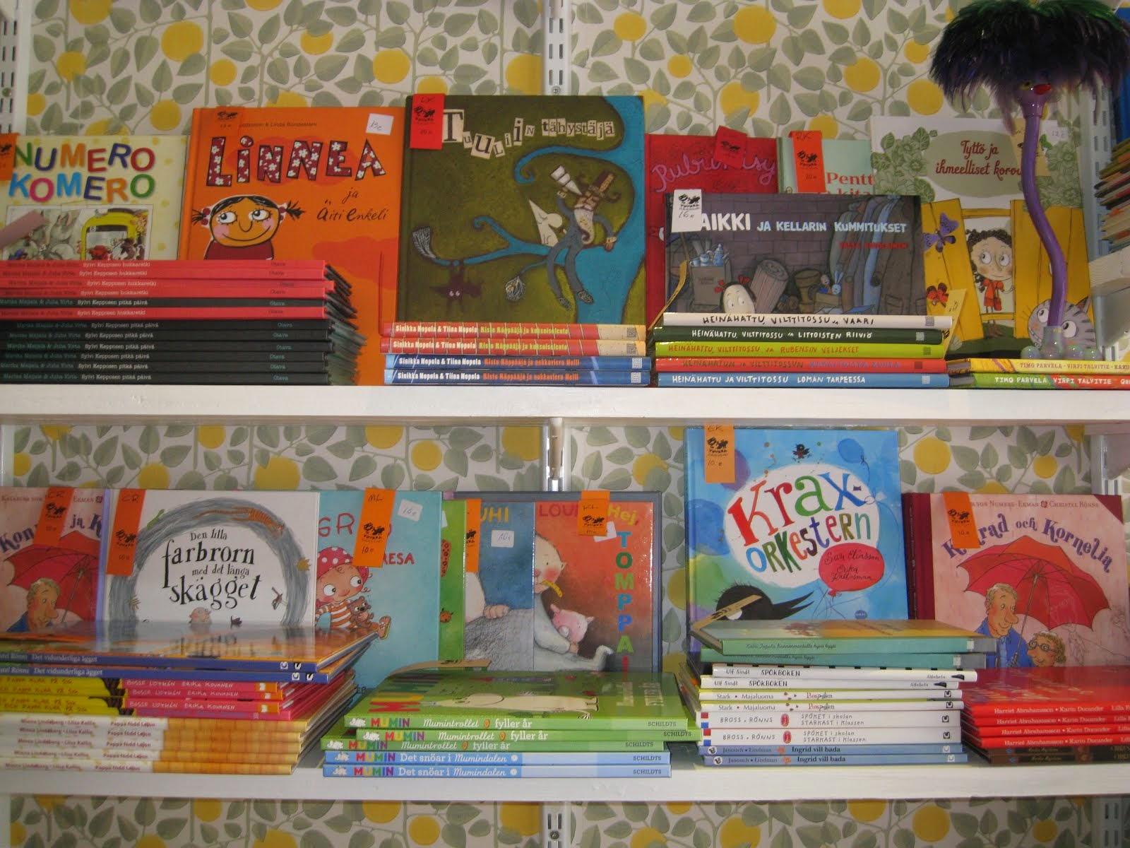 Lasten- ja nuortenkirjat Opuscolossa