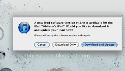 iOS 5 Like iPad 4.3.4 to Follow Android's OTA Method on Upgrade