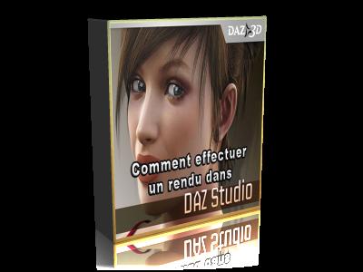 comment effectuer un rendu dans Daz Studio
