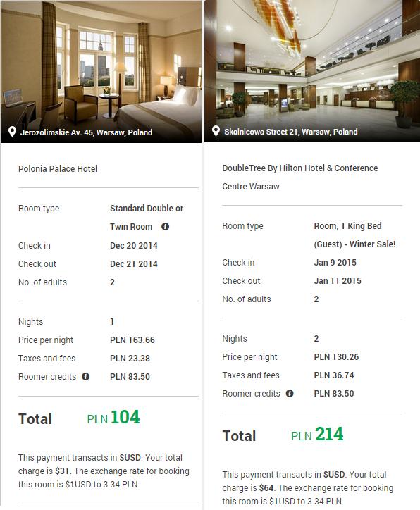Roomer, hotele w Warszawie w świetnej cenie