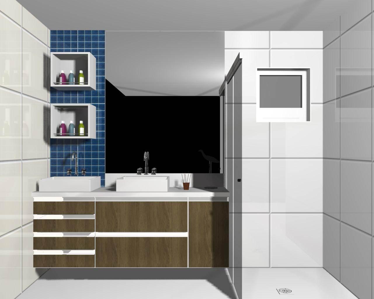 Lessa Design Um lindo banheiro -> Um Banheiro Moderno