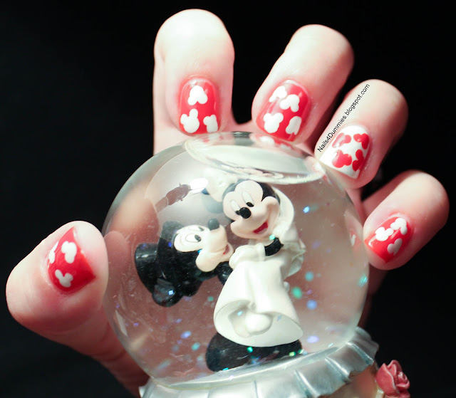 Mickey Mouse Disney Mani