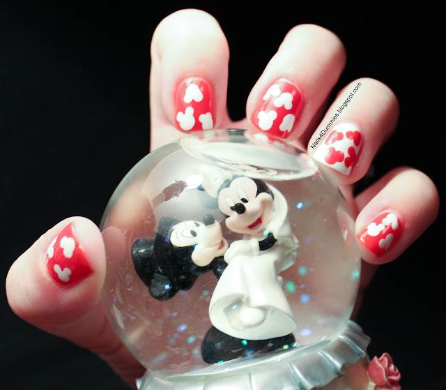 Mickey Mouse Disney Mani