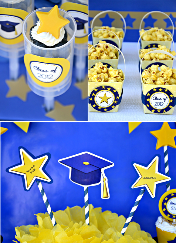 This is a photo of Irresistible Printable Graduation Decorations