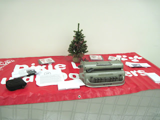 Dixie Land's display table