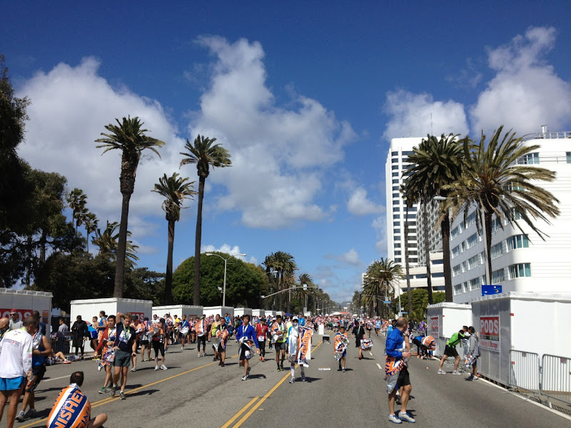 Post-marathon Santa Monica