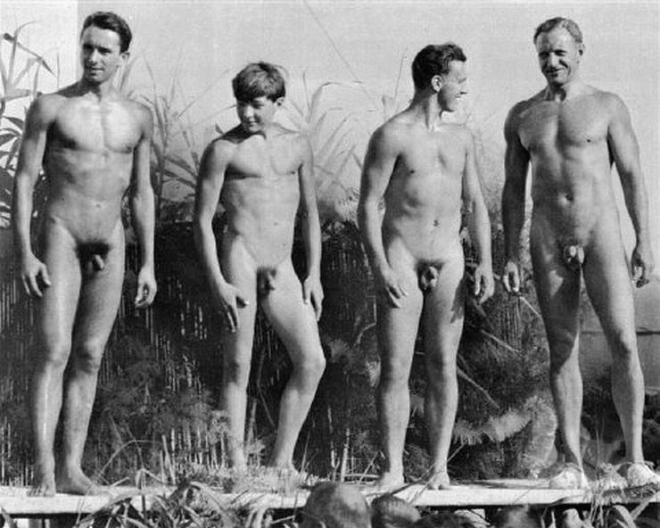 naked Family men nudity