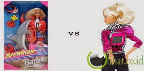 Boneka Barbie vs Barbie Video Girl
