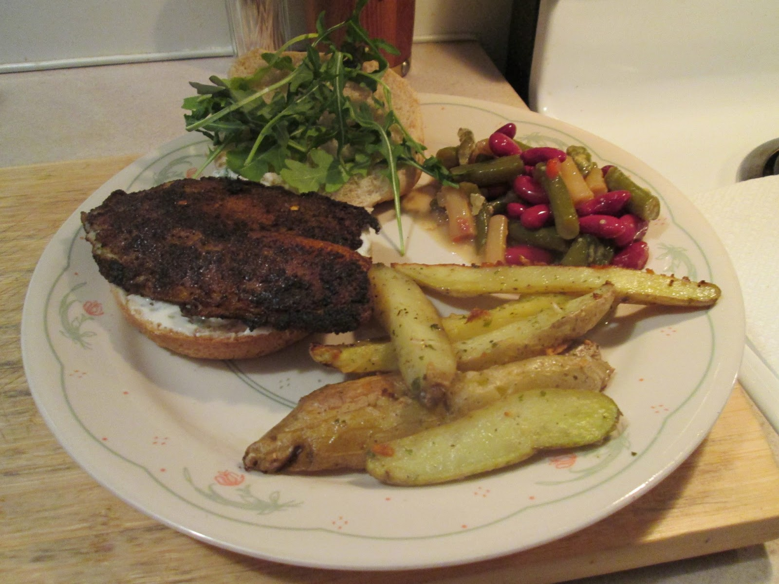 Diab2Cook: Blackened Tilapia Sandwich with Cilantro Lime ...