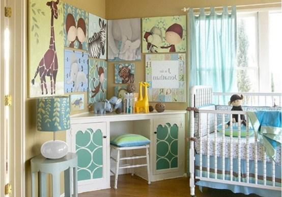 Decoraci n estilo safari en dormitorio del beb for Paginas para disenar habitaciones