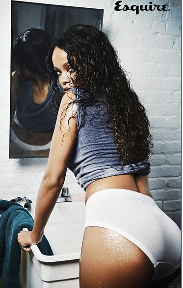 Rihanna Topless, Singer Talks Sex, Men & Engagement