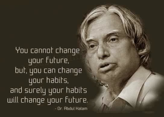 you cannot change your future but you can change your