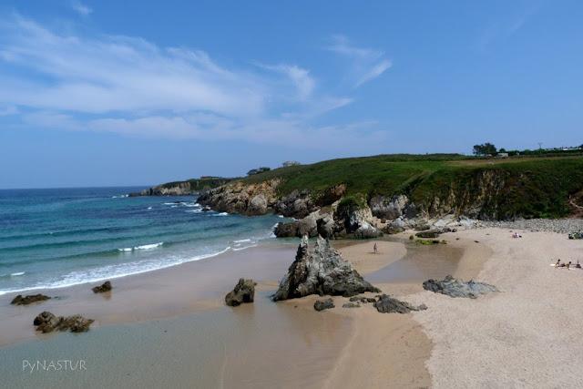 Playa de La Paloma Tapia de Casariego Asturias