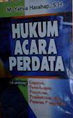 HUKUM ACARA PERDATA Rp.170,000 Prof.Yahya Harahap SH. Disc.20%