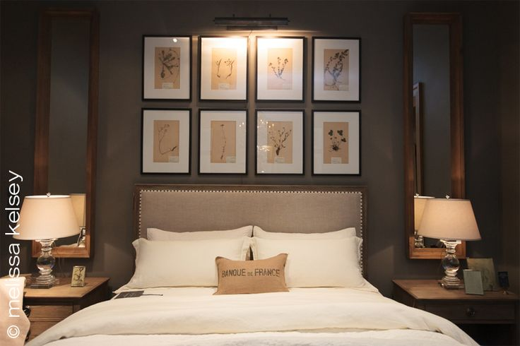originally i wanted a completely neutral restoration hardware feel for the space with botanical or bird prints for artwork - Restoration Hardware Bedroom Furniture