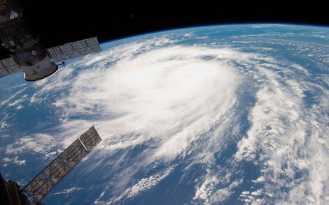 Imagen de Satélite Huracán NASA