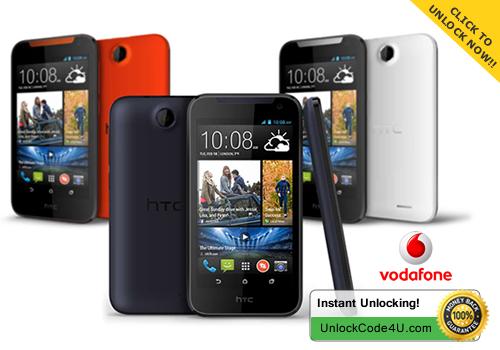 Factory Unlock Code for HTC Desire 310