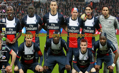 Download tema psg (paris saint germain) terbaru 2014 untuk windows 7